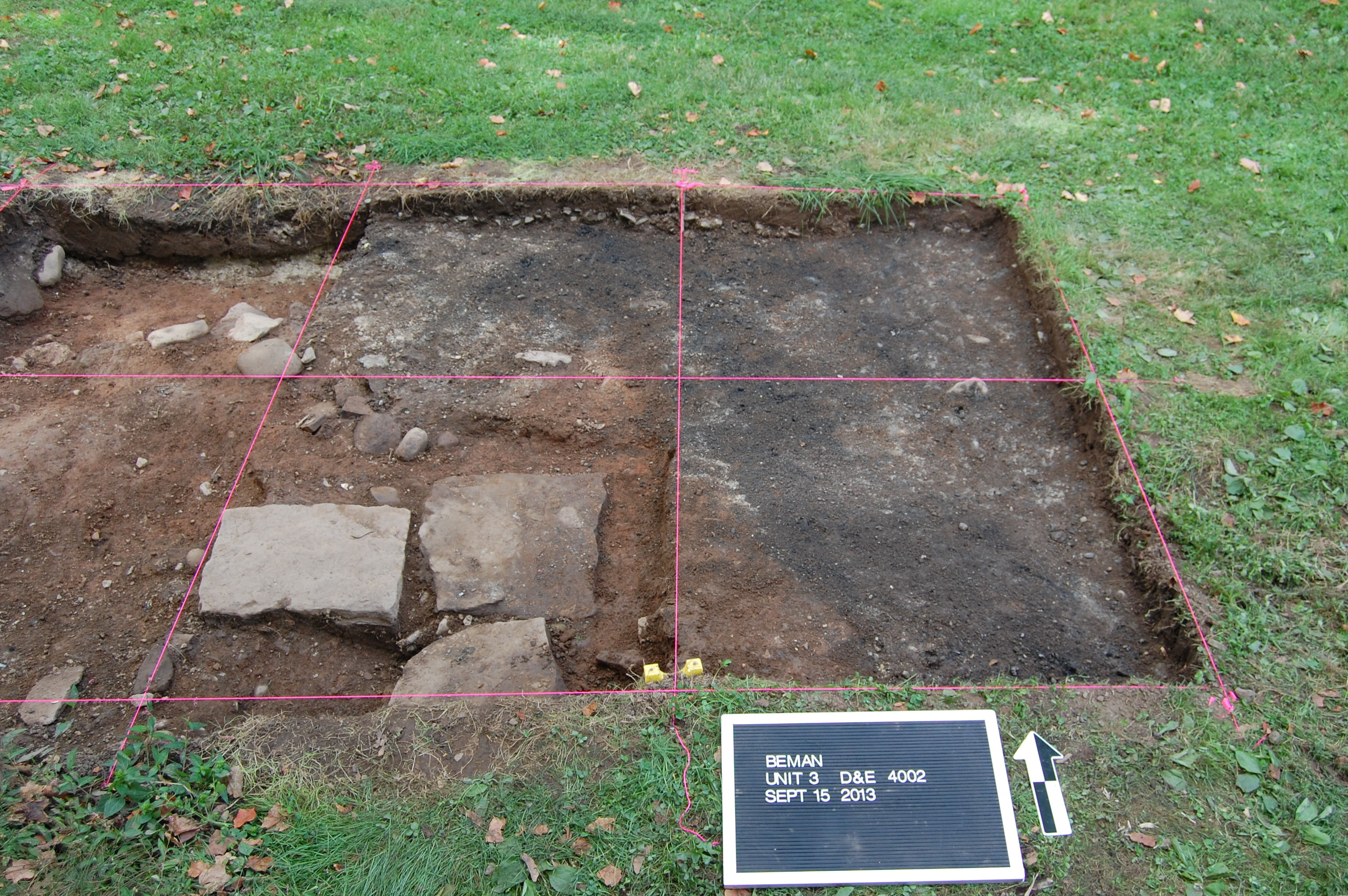 Unit 3 Beman Triangle 1 2 Meter 3b Meters X 3d And 3e Was Excavated During Different Weekends September 14 15